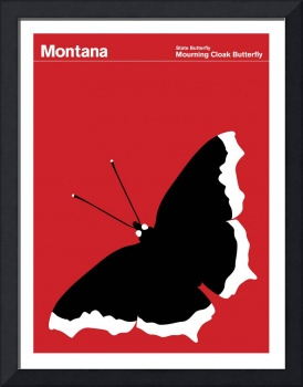 Montana State Butterfly: Mourning Cloak Butterfly