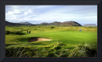 1st Hole Ballyliffin Golf Club