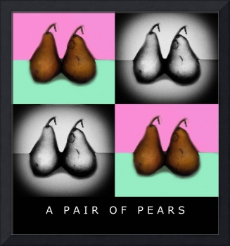 A PAIR OF PEARS 4X