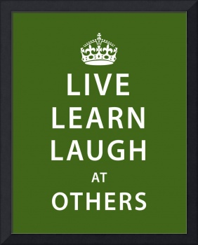 Laugh at Others • Green