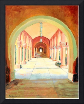 Arbor Colonnade in Balboa Park by RD Riccoboni™