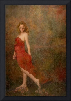 Red Dress * Wall Art