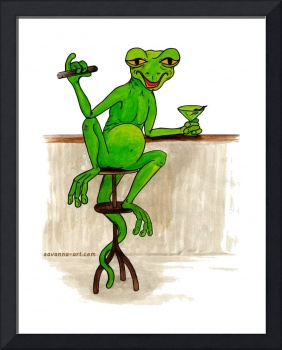 Ol' Gecko & Martini, Cartoon
