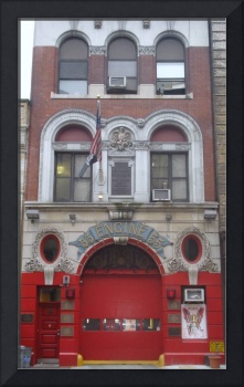 Engine 55 Fire House, Little Italy, New York