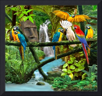 PARROTS OF THE HIDDEN JUNGLE