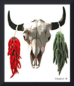 Skull and Chiles