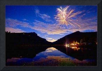 Colorado Rocky Mountains Private Fireworks Show