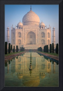 Taj Mahal Dawn Reflection