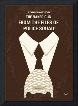 No432 My The Naked Gun minimal movie poster