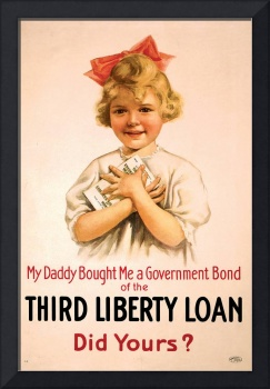 My Daddy Bought Me Third Liberty Loan