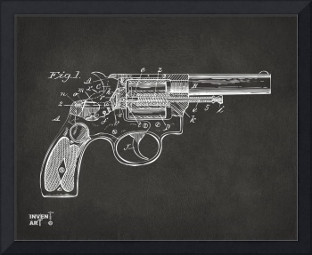 Wesson 1896 Revolver Patent Minimal Gray