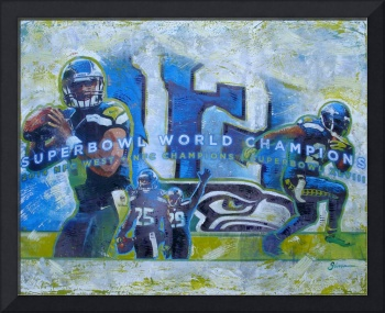 Seahawks 2014 Superbowl Champs