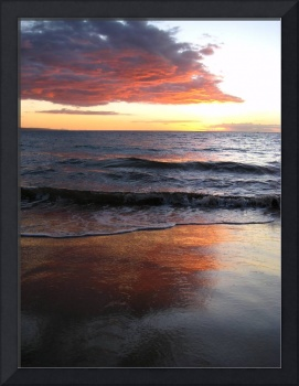 Reflection on the Sand