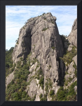 Rock Formations, Huangshan, China