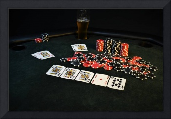 Poker Bad Beat To A Royal Flush