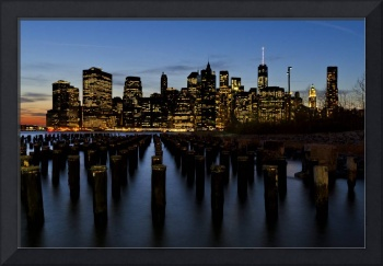 NYC's Lower Manhattan Skyline