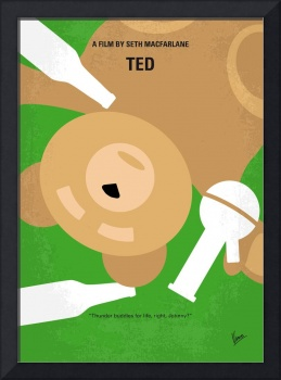 No519 My TED minimal movie poster