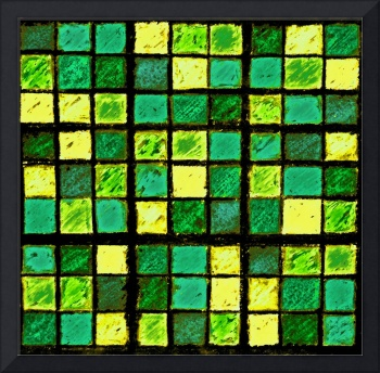 Sudoku Abstract Green Yellow