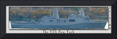 The USS New York, 11.2.09