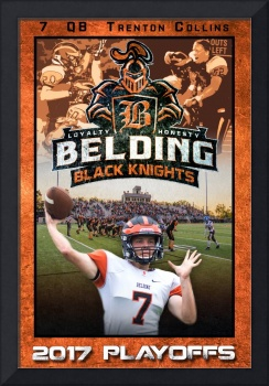 Belding Playoffs Trenton Collins