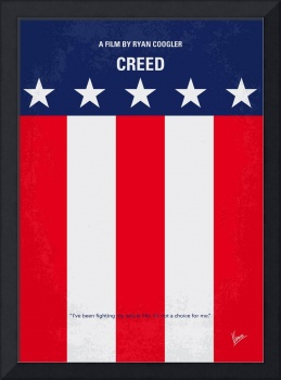 No608 My Creed minimal movie poster