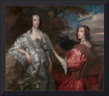 Anthony van Dyck~Katherine, Countess of Chesterfie