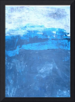black and blue abstract No 21