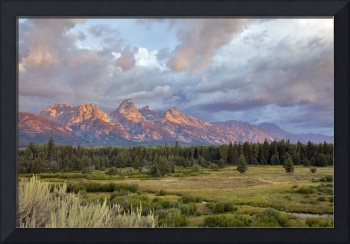 Grand Teton  Sunrise
