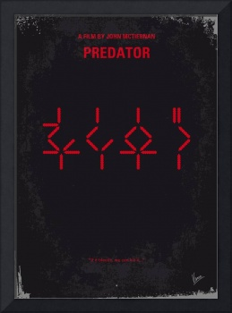No066 My predator minimal movie poster
