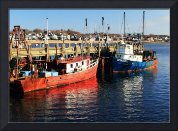 Fishing Boats on Provincetown Wharf