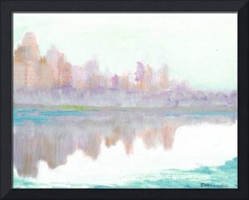 Foggy Morning in  Central Park - New York City Art