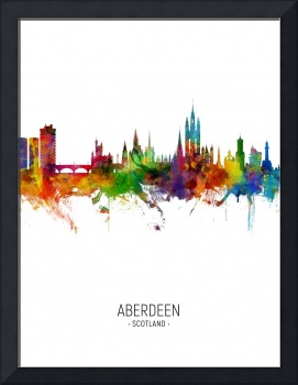 Aberdeen Scotland Skyline