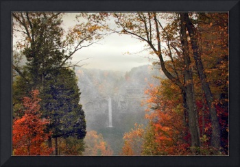 Taughannock in the Mist