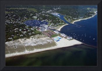 Wychmere Harbor Beach and Tennis Club Aerial #3
