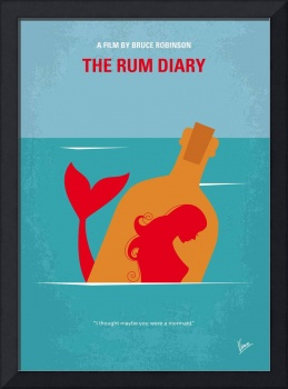 No925 My The Rum Diary minimal movie poster