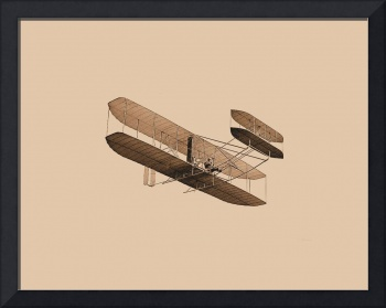 Wright Flyer 1904 Aged