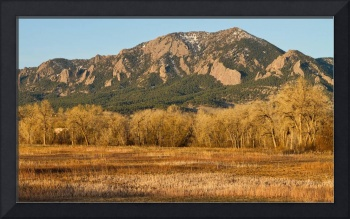 Flatirons Jay Rd View Boulder CO