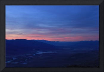 Sunset Over Death Valley II