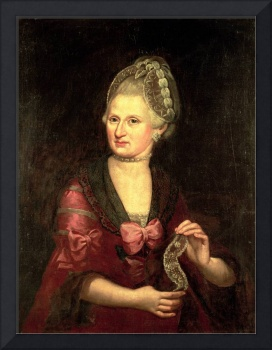 Anna Maria Mozart, nee Pertl, mother of Wolfgang A