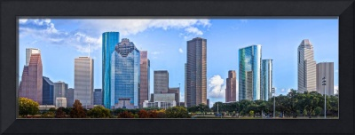 Houston Panorama Skyline