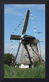 Decorated festive windmill 1