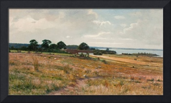 AXEL HJALMAR LINDQVIST, LANDSCAPE FROM THE SOUTH O