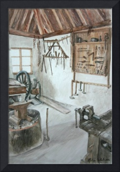 Blacksmith Shop, Sirogojno
