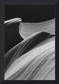 Antelope Canyon Desert Abstract