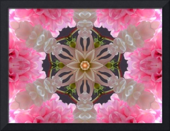 Pink Mandala of Love