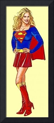 Supergirl (Traditional, Red Skirt)