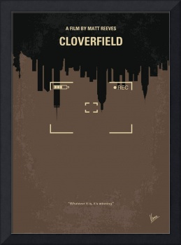 No203 My Cloverfield minimal movie poster