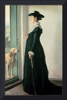 Portrait of my wife. The painter Anna Ancher