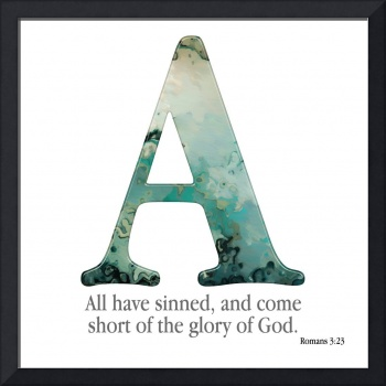 A- The Bible Verse Alphabet