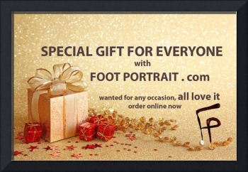 SPECIAL GIFT WITH FOOT PORTRAIT jpg